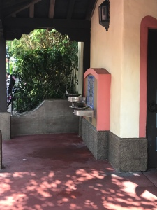 Hidden Water fountains near Pirates of the Caribbean
