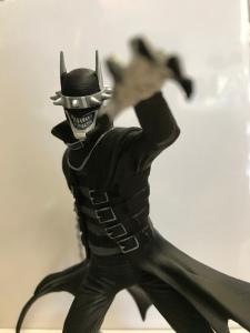 Batman Who Laughs Black and White Statue