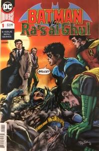 Comic Cover of Batman vs. Ra's al Ghul #1 by Neal Adams