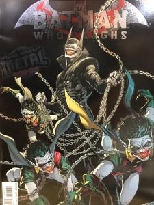 Batman Who Laughs one shot comic book cover
