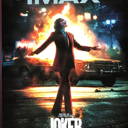 Joker IMAX movie poster