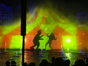 KIller Klowns From Outer Space Projection during Marathon of Mayhem