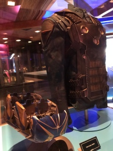 Preview of Ride Vehicle and Costume From Guardians of the Galaxy Cosmic Rewind