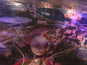Mural of Future of Epcot