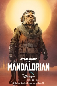 Official The Mandalorian character poster