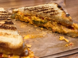 Grilled Pimento Cheese Sandwich at Fuel