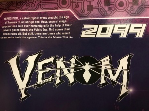 Inside page of Venom 2099 with backstory