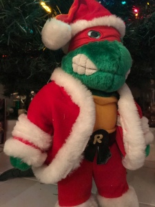 Teenage Mutant Ninja Turtle Rafael Santa Plush