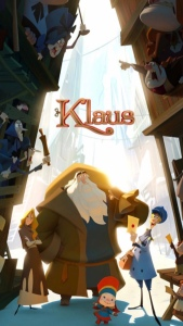Klaus animated holiday film poster image