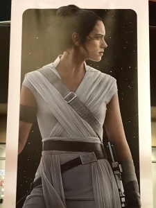 Star Wars Rey Character Poster