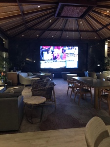 TV/Sports viewing area Orchid Court Lounge
