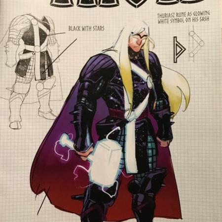 Variant Cover art for Marvel Comics Thor 2