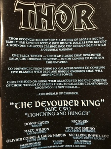 Credits and Title Page for Thor 2