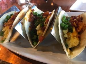 Breakfast Tacos at City Works brunch