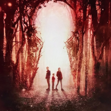Children from Locke & Key Netflix series