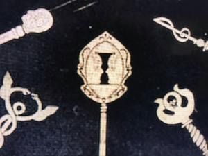 Keys from Locke & Key series