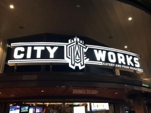 City Works sign at Disney Springs