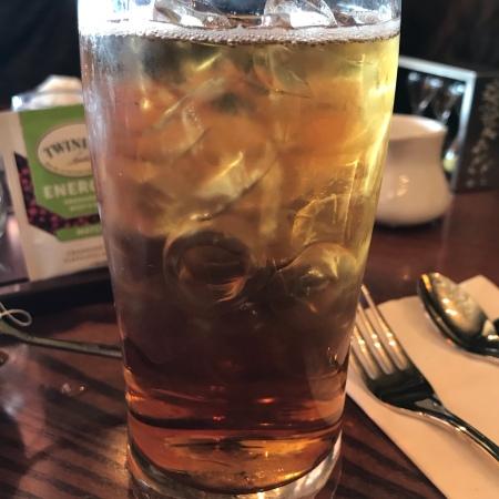 Lady Grey Iced Tea at Epcot